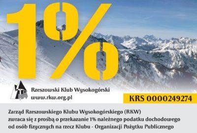 Przekaż 1% swojego podatku na działalność RKW
